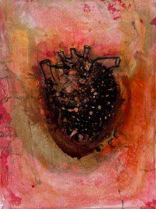 Corónza Mixed Media on Canvas Art